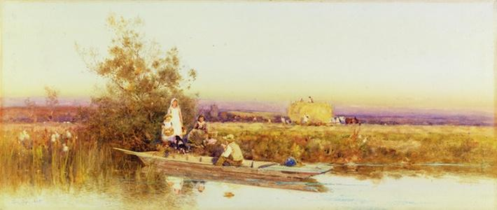 In the Punt, 1895