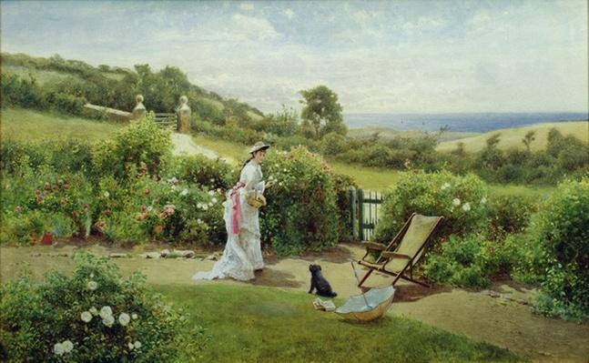 In the Garden, 1903