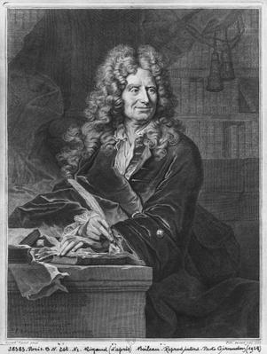 Portrait of Nicolas Boileau, known as Boileau-Despreaux, 1706