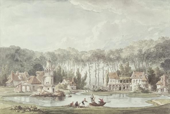 The Hameau, Petit Trianon, 1786