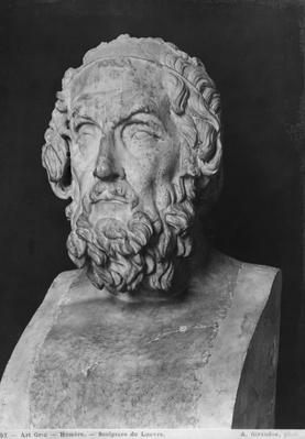 Bust of Homer, Hellenistic period
