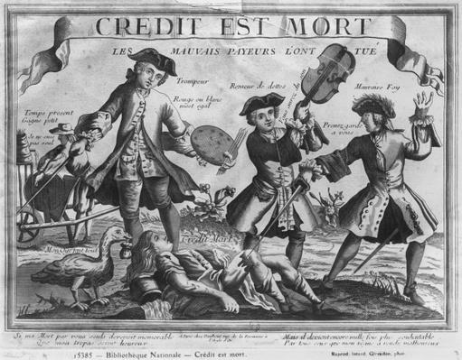 'Credit is dead, the bad debtors have killed it'