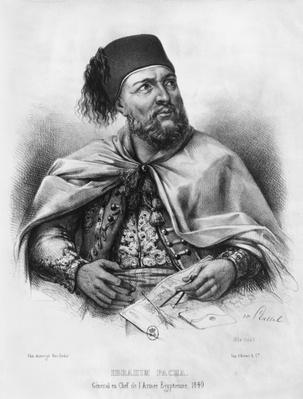 Portrait of Ibrahim Pasha, 1840