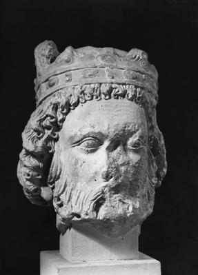 Head of Clothar I, King of the Franks, called the Old