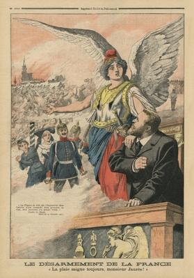 'Remember', Jean Jaures and Marianne, illustration from 'Le Petit Journal', 22nd June 1913