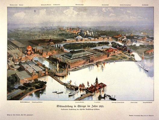 Poster for the 1893 Chicago World's Fair
