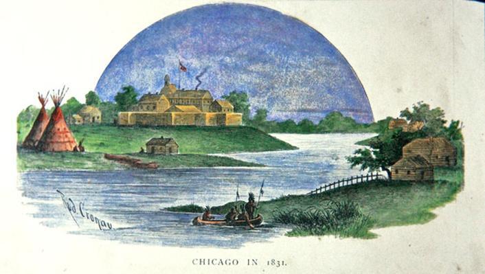 Chigaco in 1831