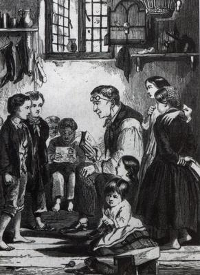 John Pounds teaching children in his home