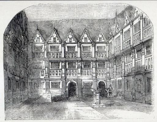House of Sir Thomas Gresham, in Bishopsgate Street, London
