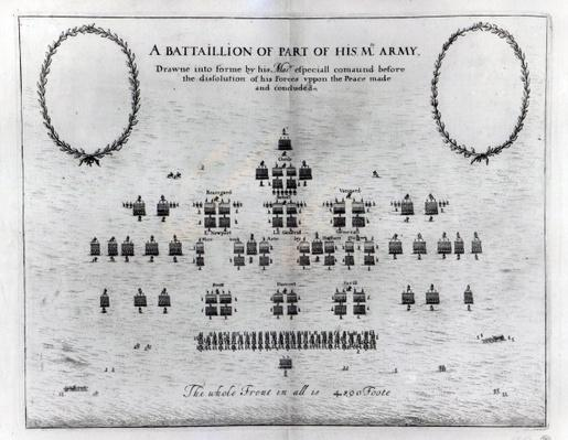 A Battalion of Part of his Majesty's Army