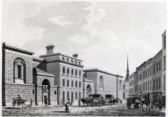 Newgate prison, 1799