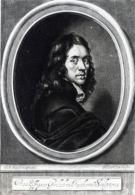 Self portrait, engraved by John Fillian