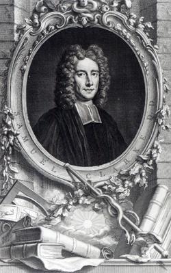 Samuel Clarke, engraved by Jacobus Houbraken, c.1737-48