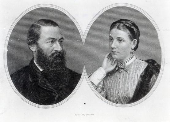 Sir Samuel and Lady Florence Baker, 1866