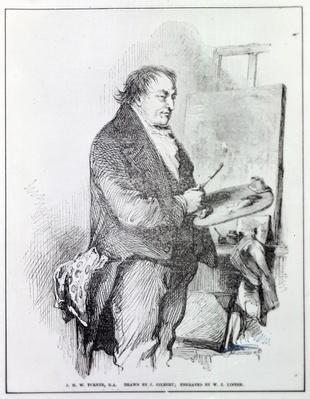 Joseph Mallord William Turner, engraved by W.J. Linton, c.1837