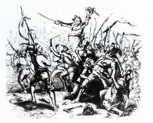 Luddite Rioters, 1811-12
