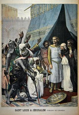 St. Louis in Jerusalem, illustration from the illustrated supplement of Le Petit Journal, 11th September, 1898
