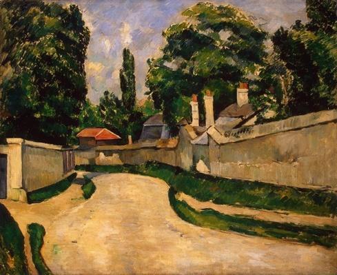 Houses Along a Road, c.1881