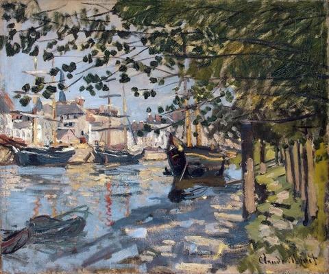 Seine at Rouen, 1872