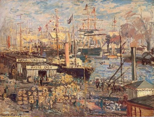 Grand Quai at Havre, 1872