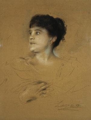 Portrait of Marcella Sembrich, 1891