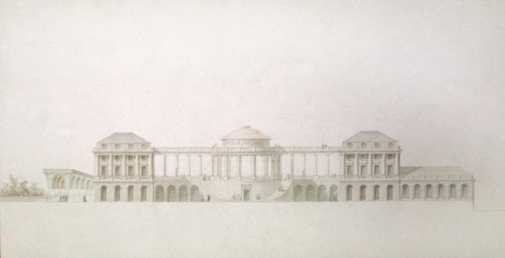 First design for the Chateau du Bouilh, Saint Andre de Cubzac, Aquitaine, c.1787