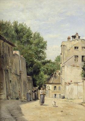 Saint-Vincent Street, Montmartre