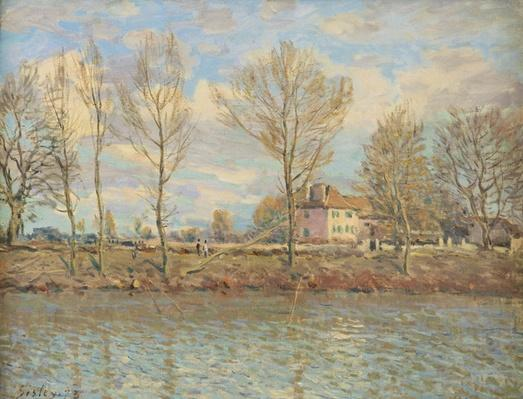 L'Ile de la Grande Jatte, Neuilly-sur-Seine, 1873