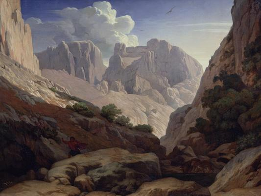The Gorges of Atlas, 1843