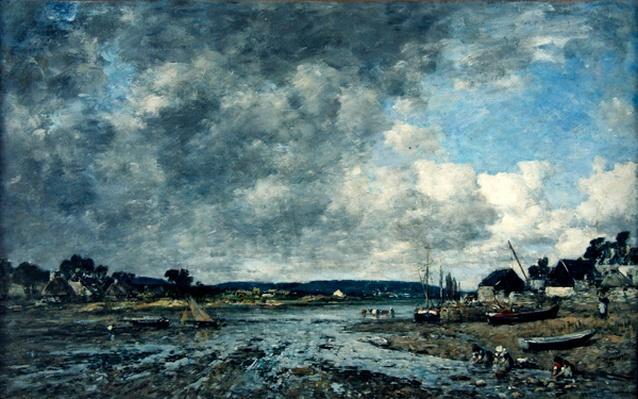 Landscape with washerwomen, 1873