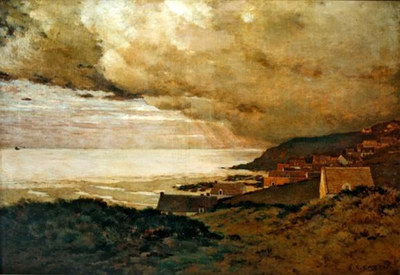 Storm, Enquihen, Pas-de-Calais, 1876
