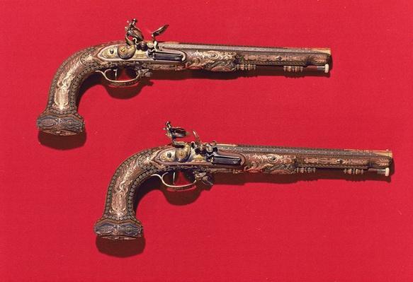 Pair of pistols, 1805