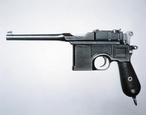 Mauser 7.53 semi-automatic pistol