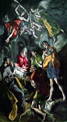 The Adoration of the Shepherds, from the Santo Domingo el Antiguo Altarpiece, c.1603-14