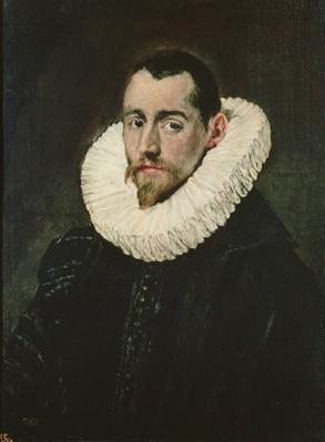 Portrait of a young knight