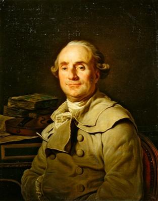 Portrait of Michel-Paul Guy de Chabanon