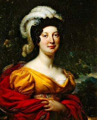 Portrait of Marshal Lanne's wife