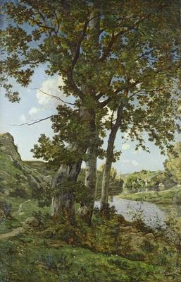 The Oaks of Chateau-Renard, 1875
