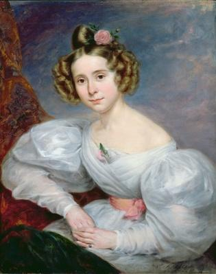 Portrait of a young woman, c.1833-34