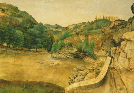 Road in the Alps, 1495