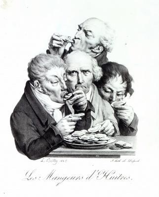 Les Mangeurs d'Huitres, 1825