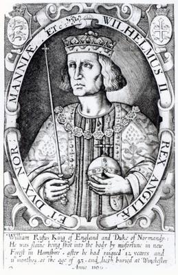 King William II of England, 1618