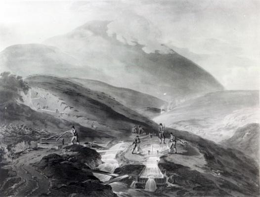 Gold Mines, County of Wicklow, engraved by John Bluck, 1804