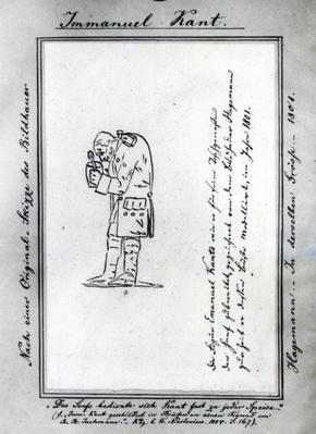 Kant mixing mustard, 1801