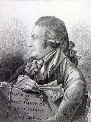 Self Portrait, frontispiece to his 'Book of Heads', 1795