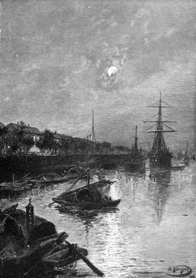 Quay at Hankou, 1893