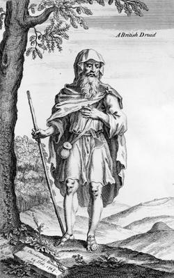 A British Druid, engraved by van der Gucht, 1723