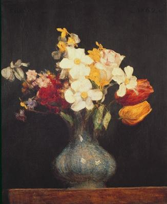 Narcissi and Tulips, 1862
