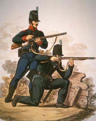British Riflemen, 1813