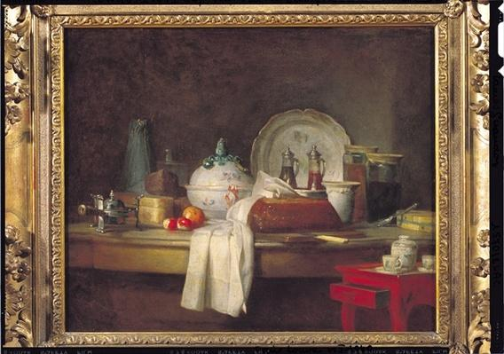 The Officers' Mess or The Remains of a Lunch, 1763